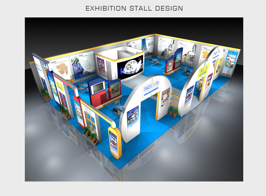 Exhibition Stall Design In Vadodara : Event stall design psm infotech website vadodara