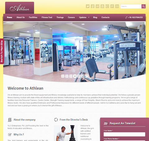 Fitness-jim-website-design-vadodara