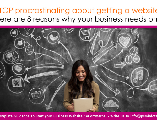 8 reasons why your business NEEDS a website!