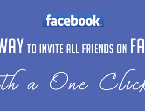 The Best Way To invite All Friends on Facebook with a One click?